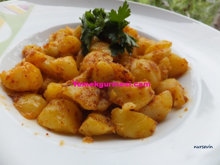Fırında Baharatlı Taze Patates