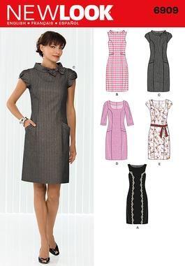 Best 20  Women's dress patterns ideas on Pinterest   Easy dress ...