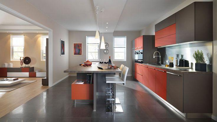 25 beste idee n over twee kleuren keuken op pinterest twee kleuren kasten twee kleuren - Faience giet keuken moderne ...