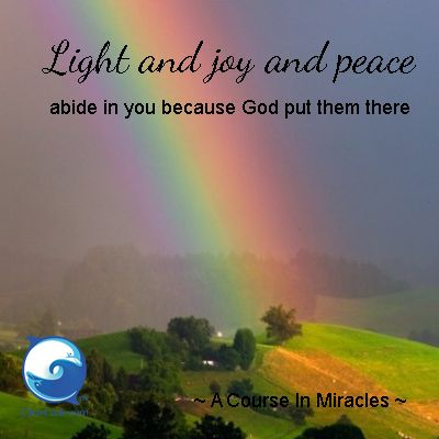 Get A Course In Miracles workbook lessons via email ==> http://www.the-course-in-miracles.com/ecourse <== FREE :)