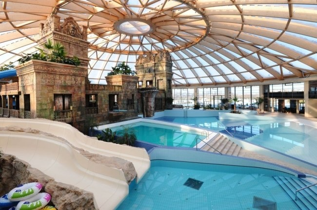 Budapest, Hungary, the place is called Aquaworld