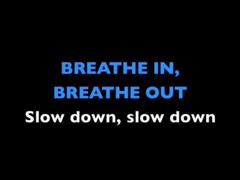 Breathe out lyrics