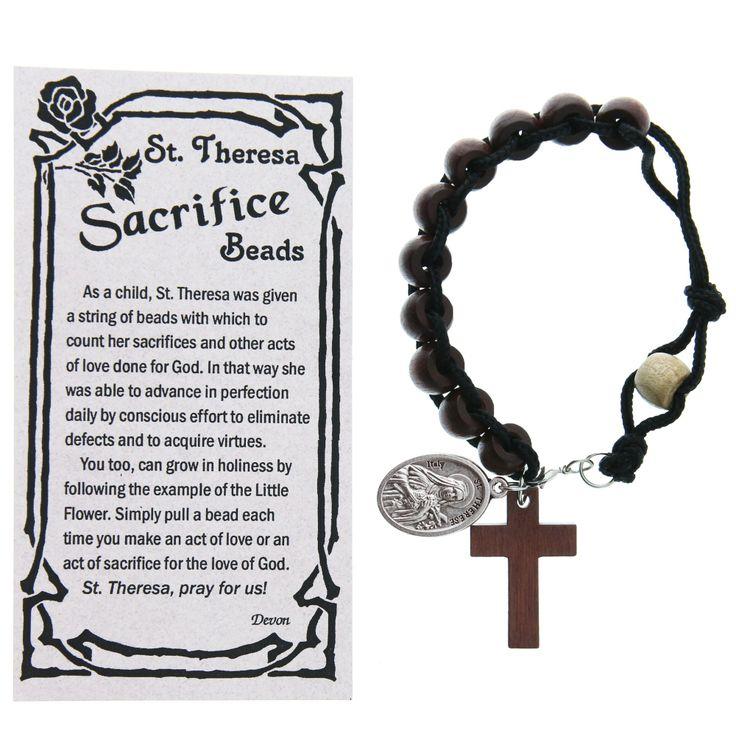 St. Therese Sacrifice Beads, $9.95 | The Catholic Company
