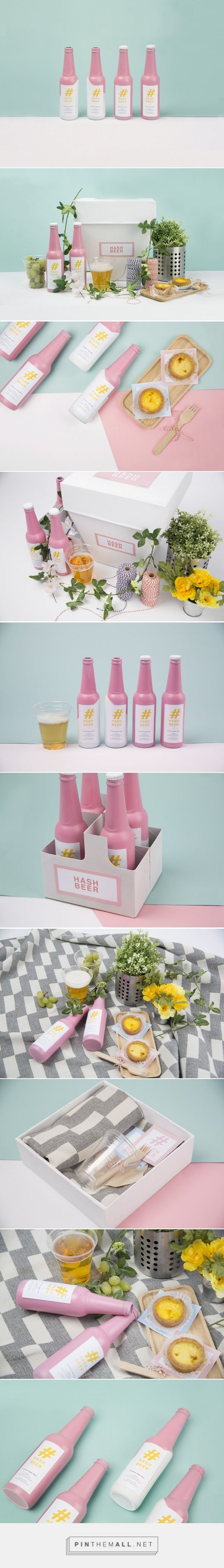 Hash Beer (Student Project) - Packaging of the World - Creative Package Design Gallery - http://www.packagingoftheworld.com/2016/05/hash-beer-student-project.html