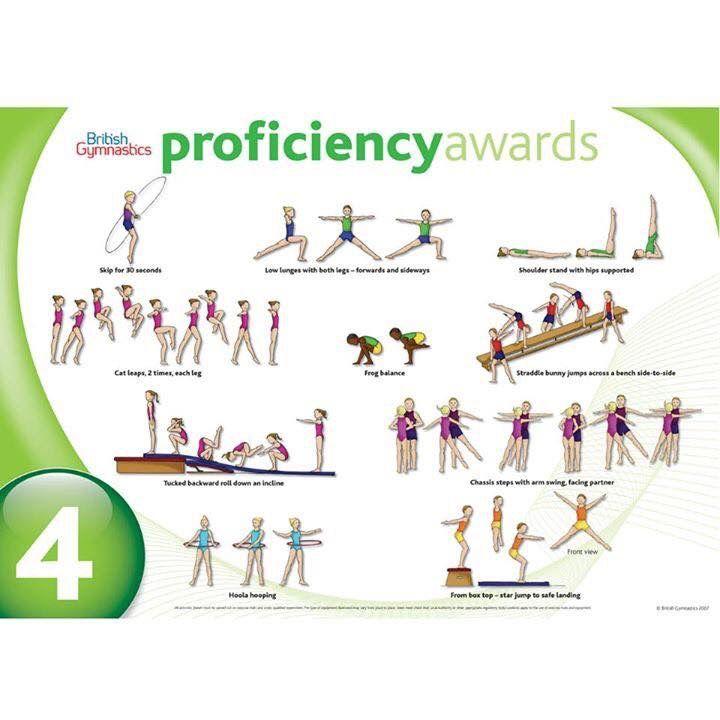 Gymnastic Proficiency Award Level 4