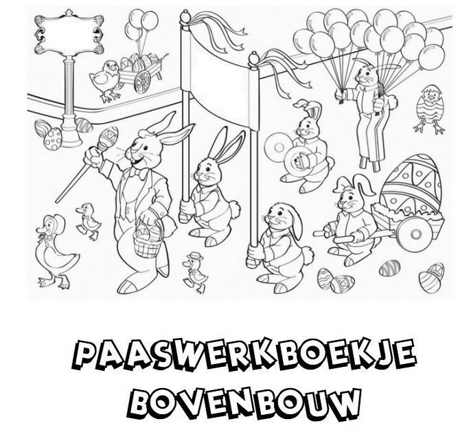 Werkboekje Pasen voor de bovenbouw! Klik voor de PDF