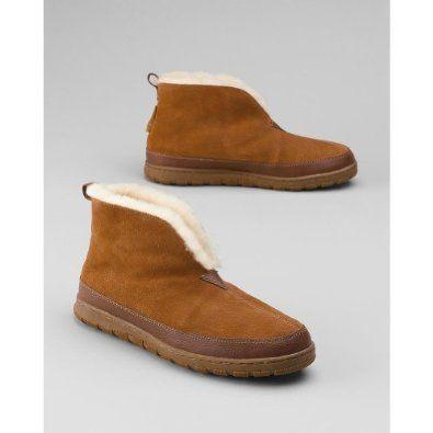 Eddie Bauer Shearling Bootie Slippers Eddie Bauer. $99.95