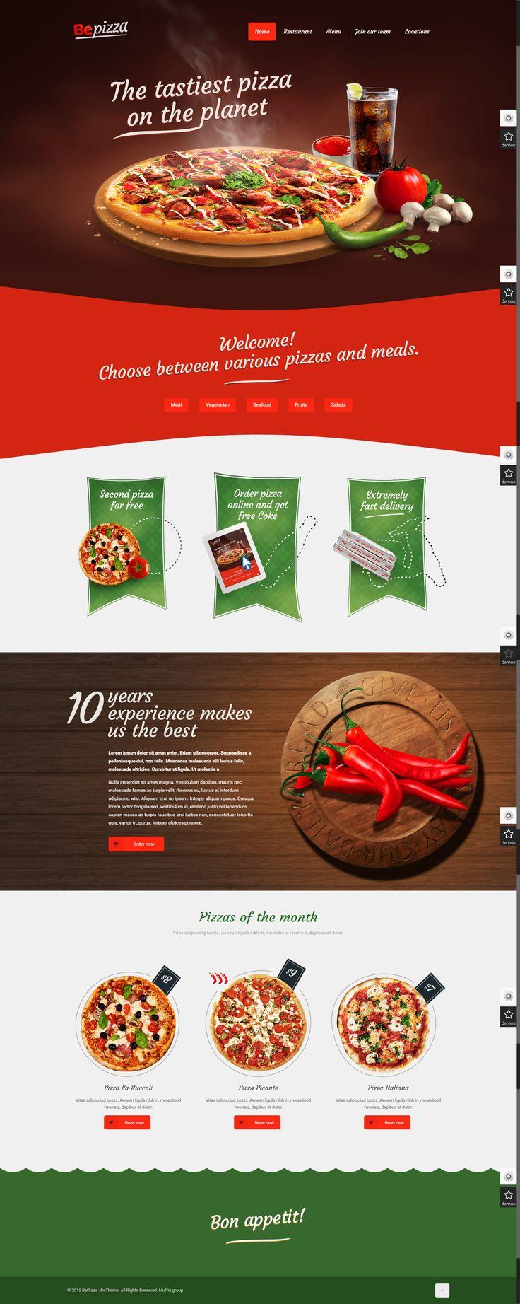 Pizza Website / Excellent
