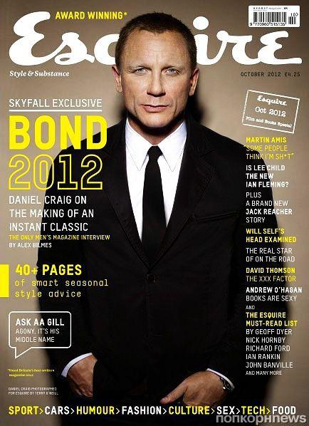 Дэниел Крэйг для октябрьского Esquire UK, Buro 24/7