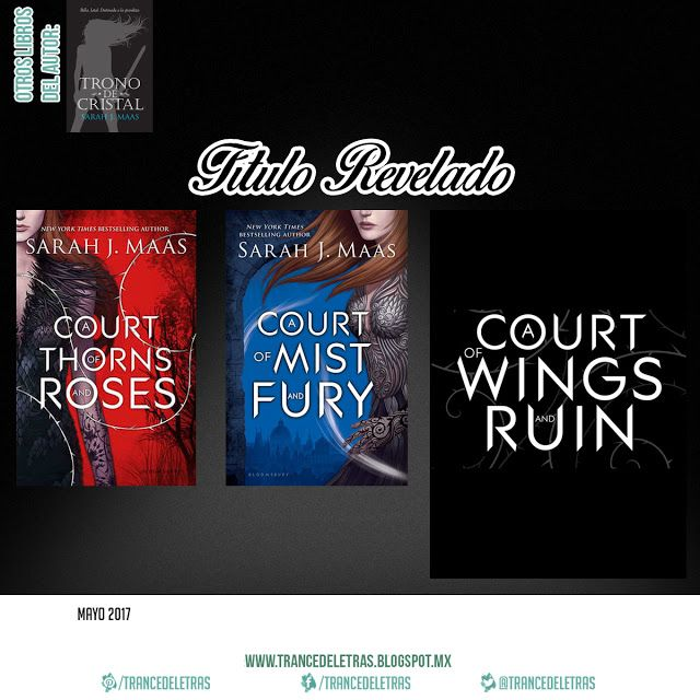 """""""A Court of Wings and Ruin"""" (A Court of Thorns and Roses #3) de Sarah J. Maas"""