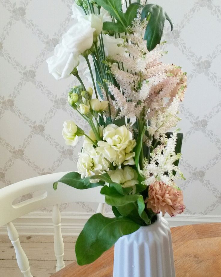 Blomster. Hagadal anno 1909. ♡
