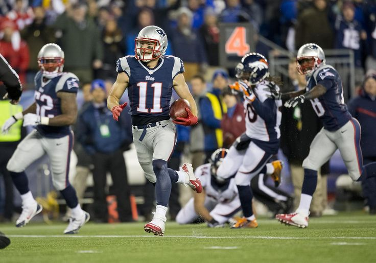 Julian Edelman has returned four punts for touchdowns in his career.