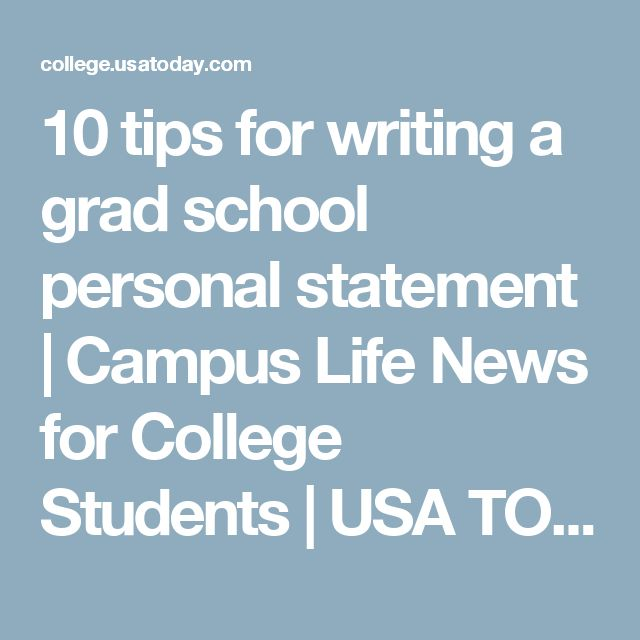 Personal statements writing help doctoral programs