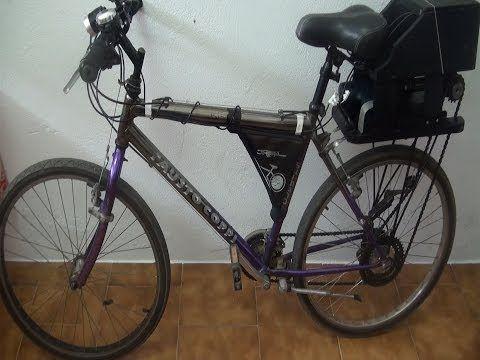 Bicicleta eléctrica 1ª parte - YouTube