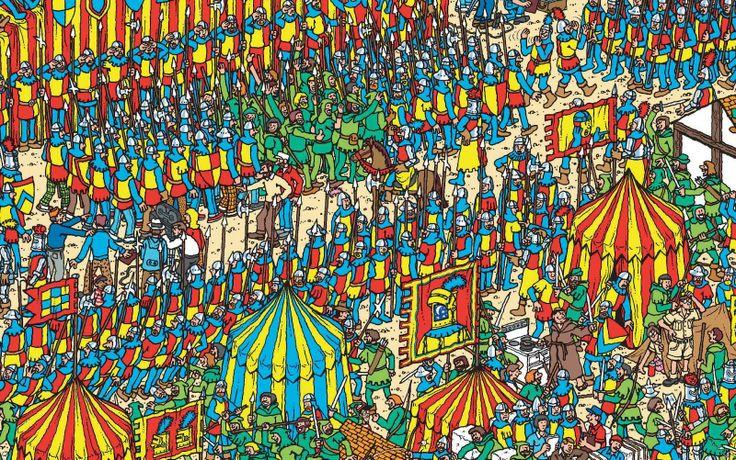 Where's Wally? visuaalinen