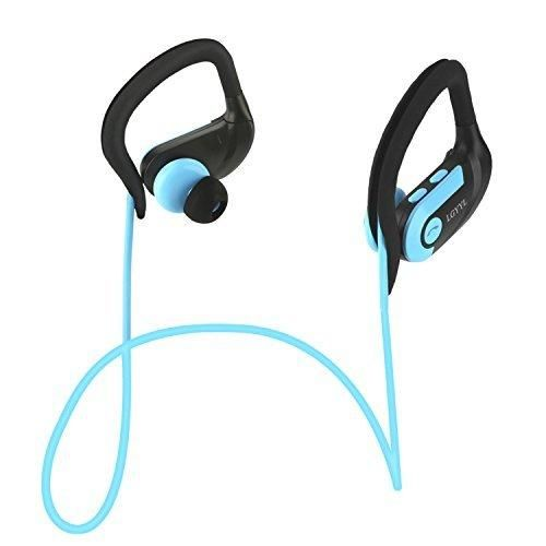 LGYYL Bluetooth Headphones Sport Wireless Earbuds with Mic Waterproof Headsets Voice Prompt&Control HD Stereo Noise Cancelling Earphones for Running Gym Work Out Works 8 Hours