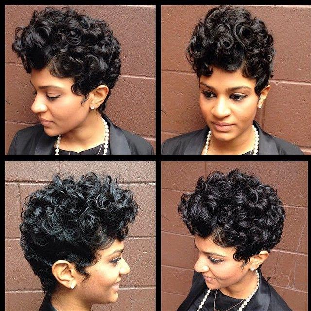 Levels. @sorayahstyles | #thecutlife #shorthair #curls #curlyhair #style #beauty #stunner ✂️ #Padgram