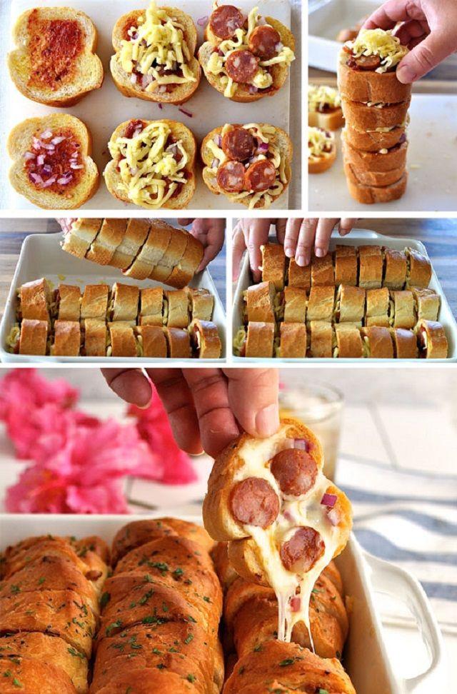 http://www.recipetineats.com/pull-apart-garlic-pizza-bread/