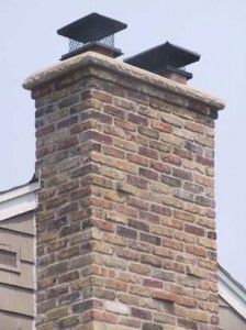 Stone Chimney Crown | Dupont Construction and Remodeling ...