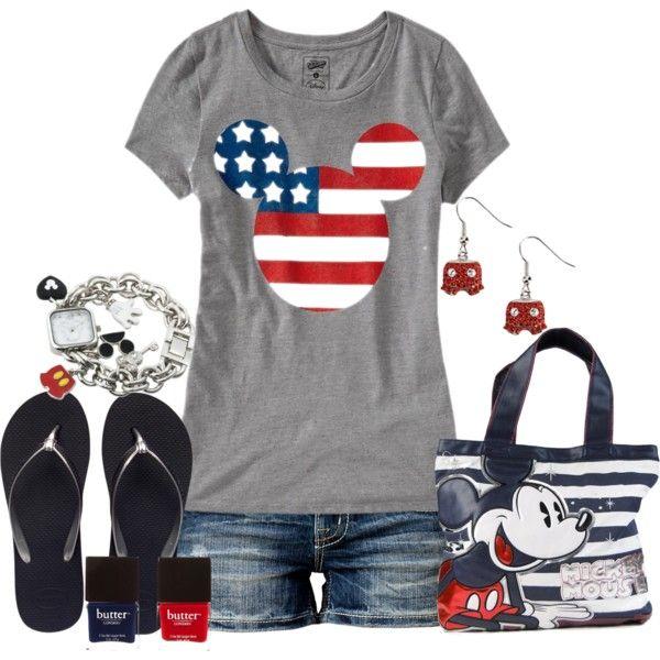 A Mickey 4th #Disney #4thofJuly #WaltDisneyWorld. Best thing to wear at Disney especially  around 4th if July