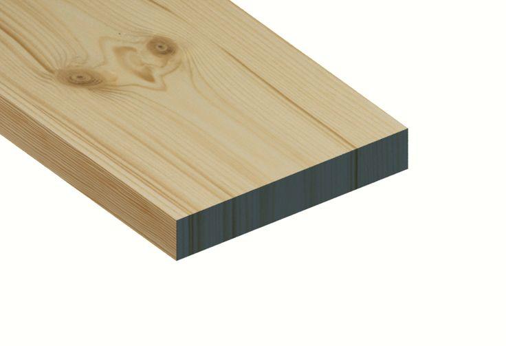Redwood Planed Timber Standard Grade 25mm x 150mm  PEFC