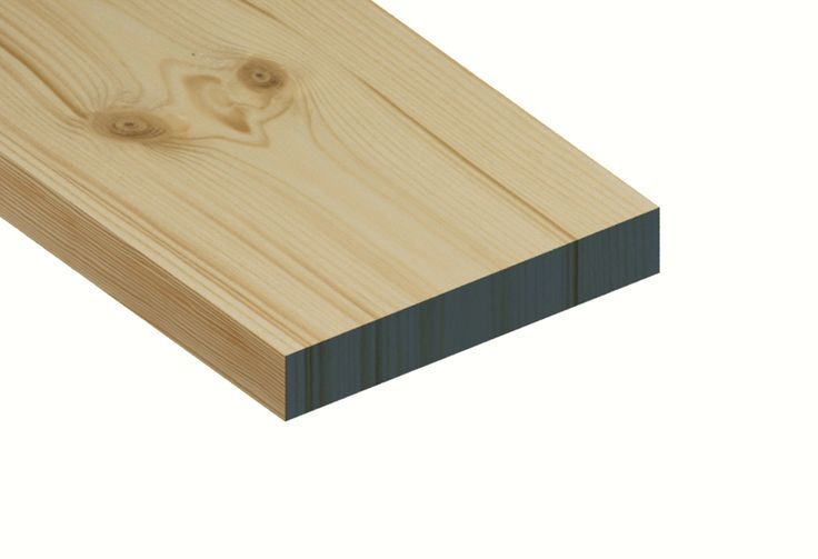 Redwood Planed Timber Standard Grade 25mm x 150mm  PEFC