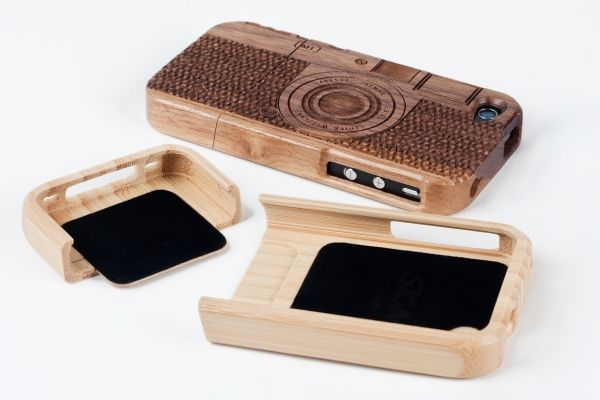 Wood Camera iPhone 4/ iPhone 4S Case