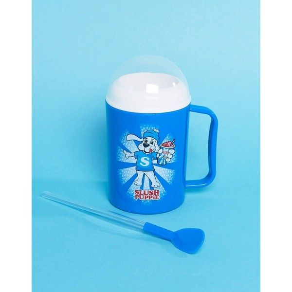 Fizz Slush Puppy Maker Cup (140 SEK) ❤ liked on Polyvore featuring home, kitchen & dining, drinkware, multi, dog mug, freezer cups and freezer mugs