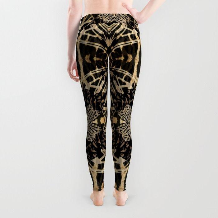 Moth's wings pattern in Leggings - Back! http://society6.com/product/moth-qms_leggings#56=417