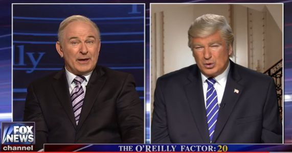 WATCH: Alec Baldwin Just Tore Donald Trump And Bill OReilly Limb From Fcking Limb On SNL #news #alternativenews