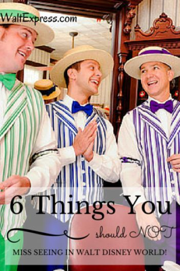 6 things you SHOULD NOT miss seeing at Walt Disney World!