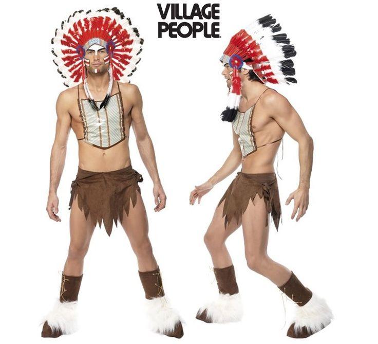 #Disfraz de #Indio de los #VillagePeople para Hombre. Auténtico y genuino disfraz de los componentes de la icónica banda de música #Disco #Orgullo #OrgulloGay #OrgulloLGTB #OrgulloMadrid