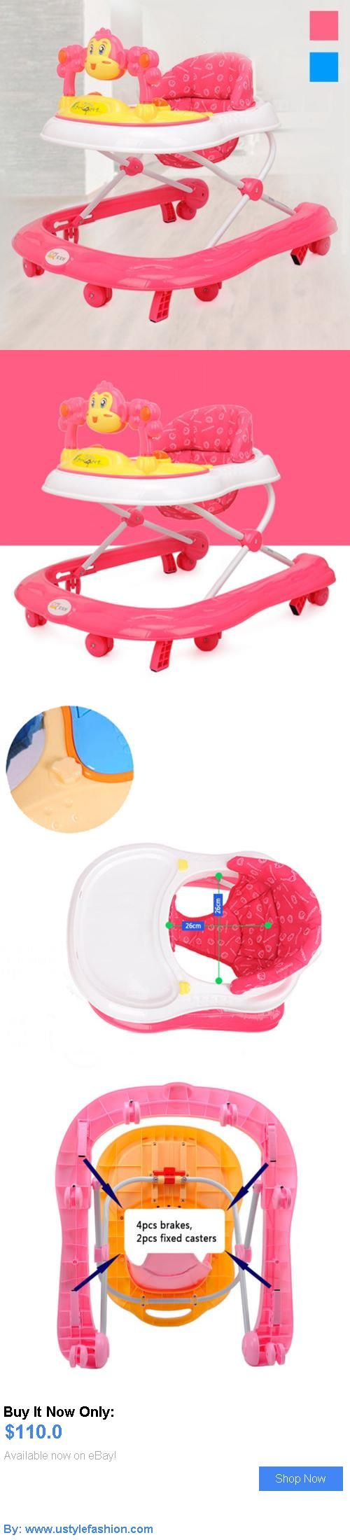 Baby walkers: New Baby Walker Height Adjustable Toddler Musical Safety Learning Assistant Toys BUY IT NOW ONLY: $110.0 #ustylefashionBabywalkers OR #ustylefashion