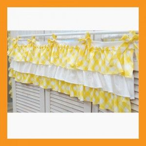 ruffled window treatments | ... cotton for your bedroom kitchen livingroom window treatment decoration