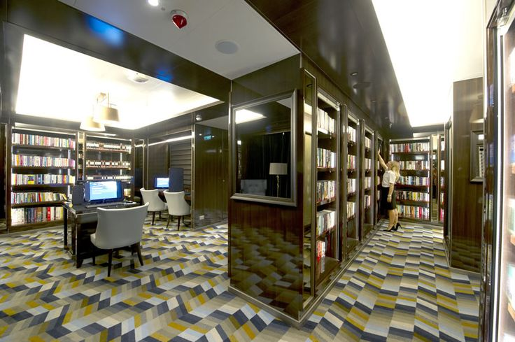 #POCruises #Britannia - the onboard library is modern yet timeless, packed with the best holiday reads you can find Find out more at http://the-cruise-specialists.co.uk/c/ship-details-query/?client=the-cruise-specialists&nShp=578&nLin=21&nOperator=P+and+O