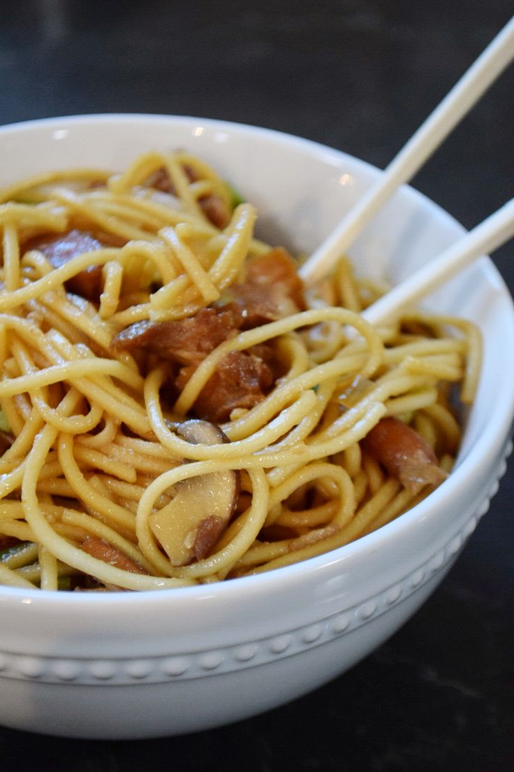Chicken Lo-Mein: NY Chinese Take-Out | The o'jays, Lo mein ...