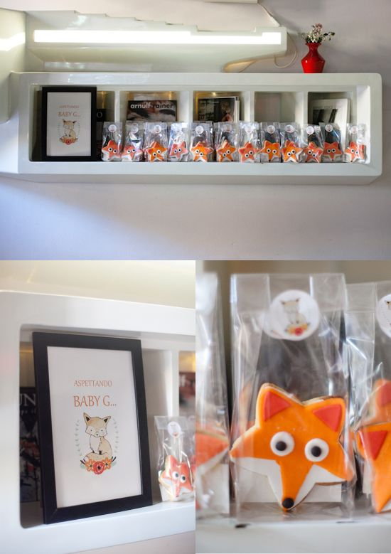 {Life} My little fox baby shower