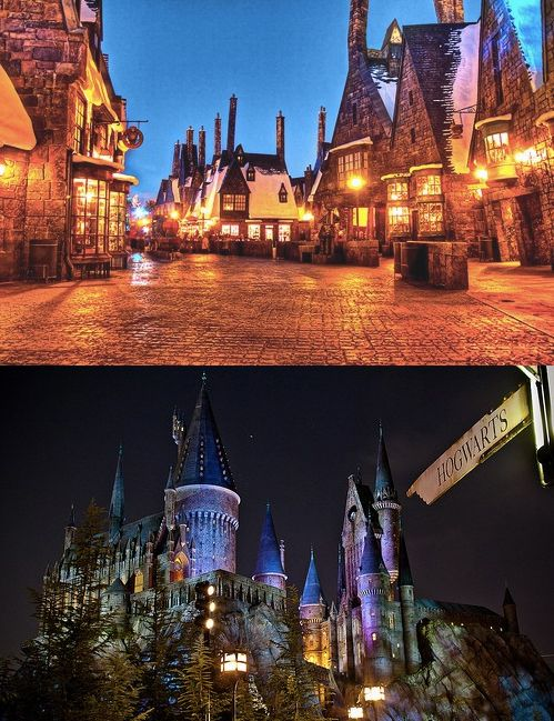 The Wizarding World of Harry Potter, Universal Studios Orlando, Florida.