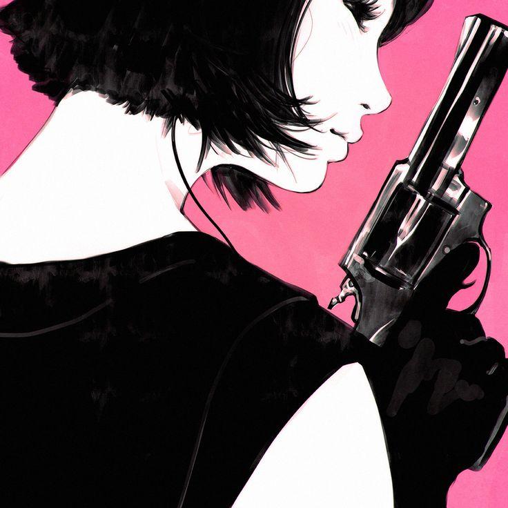"""""""Revolver! Cool Down."""" •Ilya Kuvshinov"""