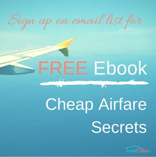 Secrets to getting cheap airline tickets - FREE ebook with email signup.