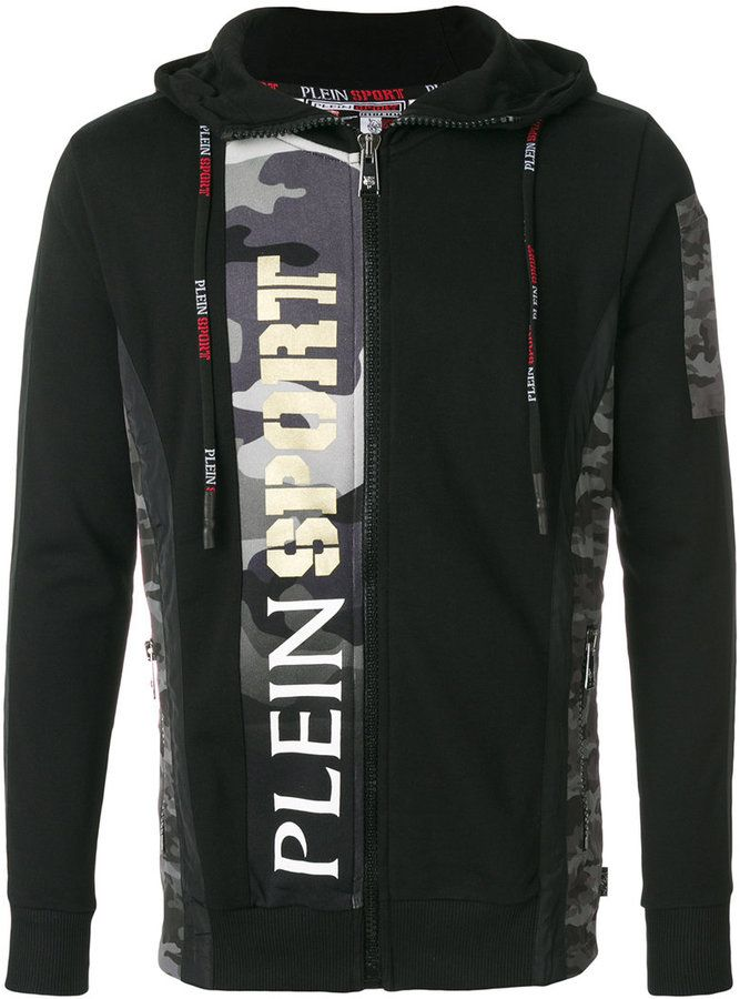 Plein Sport Silver hoodie