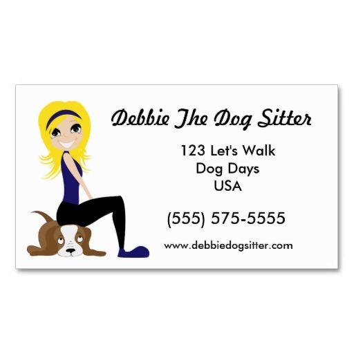 37 best pet sitting business cards images on pinterest carte de pet sitter and dog walker promotions business card colourmoves