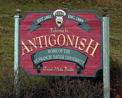 Welcome to Antigonish, Nova Scotia