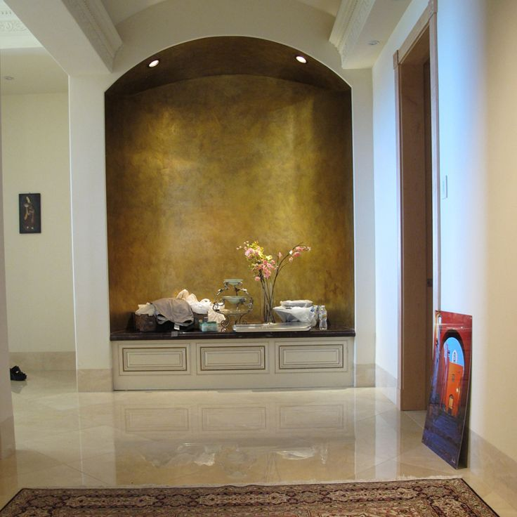 17 best wall niches images on pinterest wall niches for How to decorate an alcove in a wall