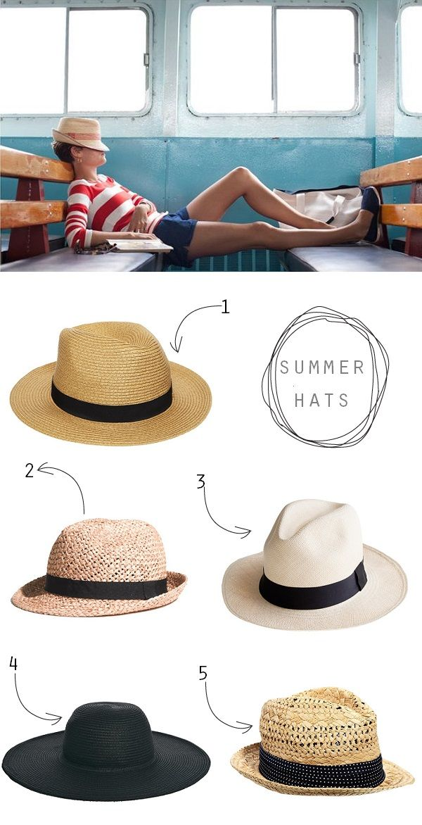 exPress-o: How to buy the perfect summer hat