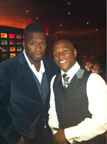 KING 50 Cent and KING Floyd Mayweather WWW.RICARDOSAMUDASINCLAIR.COM