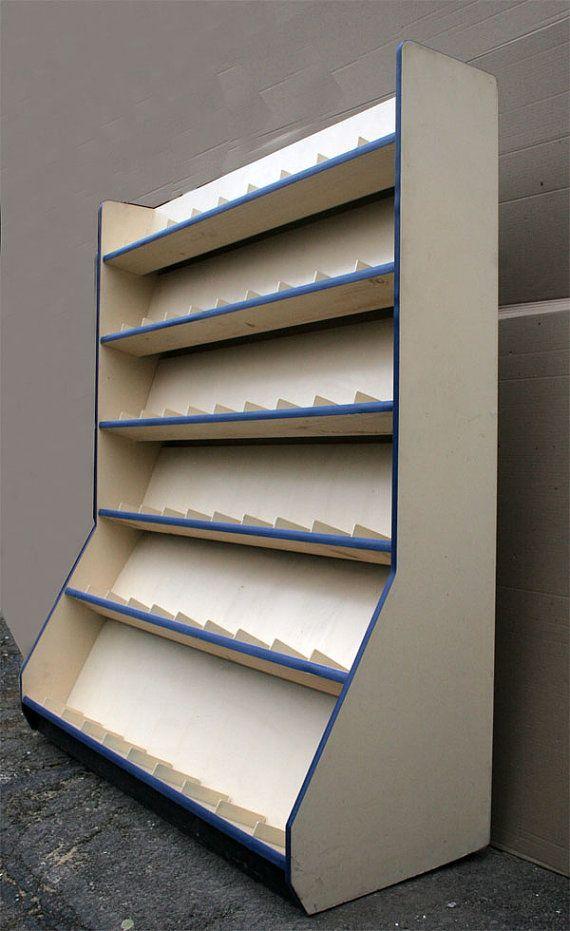 Literature Magazine Brochure Wood MDF Rack Display Case ...