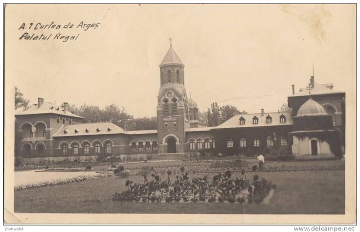 Curtea de Arges - Palatul Regal - 1942