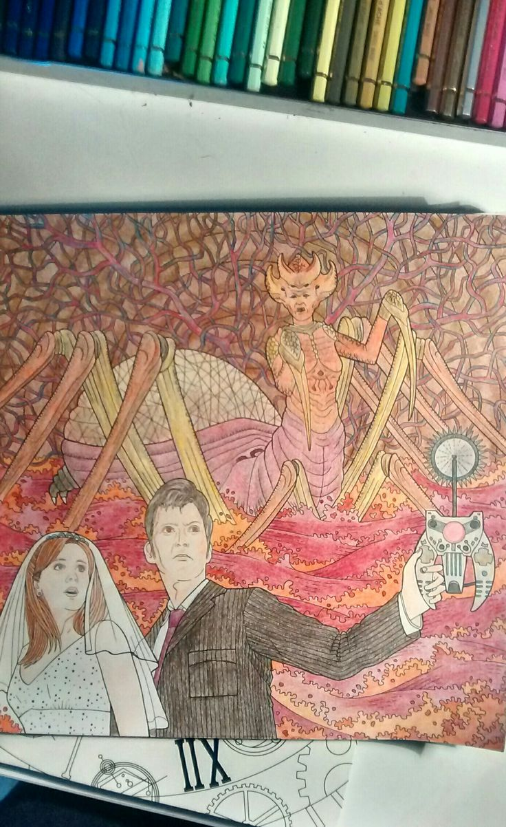 Dr Who Coloring Book DL
