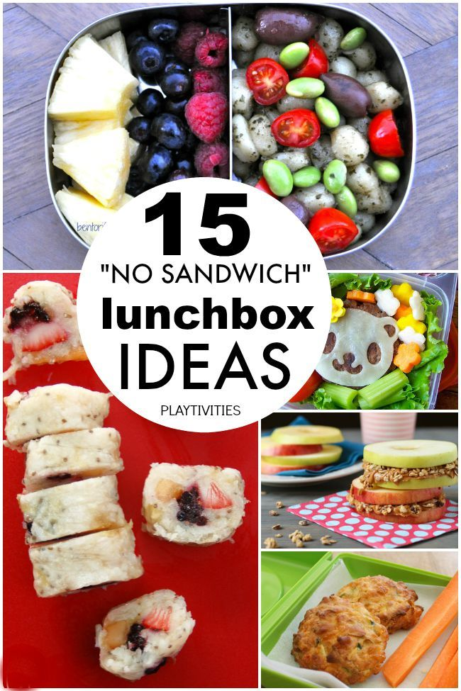 15 Non-sandwich Lunch Box Ideas